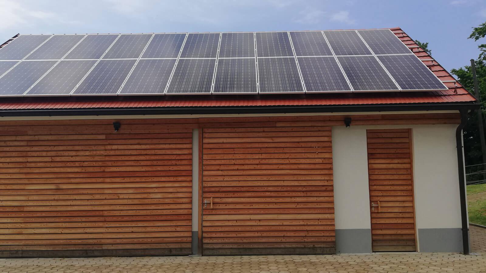Sončna elektrarna OPSEN - BREZJE PRI SLOVENSKI BISTRICI