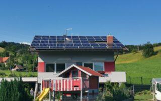 Opsen sončne elektrarne Brglez Arnače Velenje