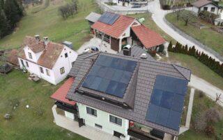 Opsen sončne elektrarne Hrovat Vešenik Slovenske Konjice