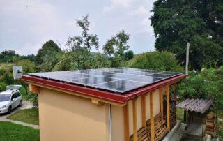 Opsen sončne elektrarne Peperko Zlateče pri Šentjurju