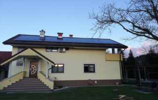 Opsen sončne elektrarne Pravdič Hrastovec Zavrč